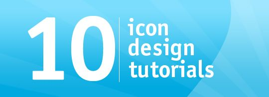 10 Icon Design tutorials