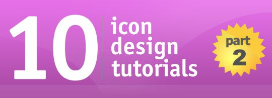 Icon Tutorials  – Part 2