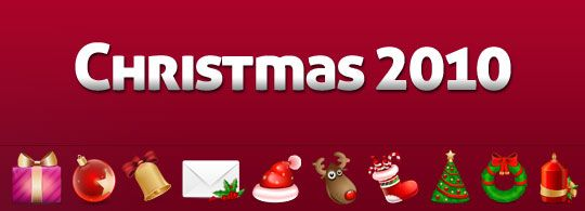 Christmas 2010 Free Icons by Iconspedia