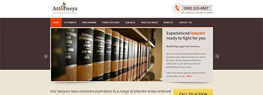 Premium Law WordPress Theme Giveaway