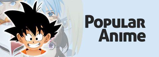 Popular Anime Icons