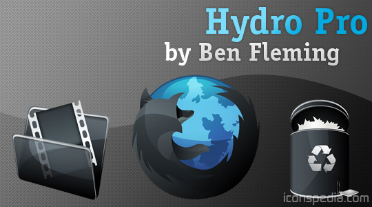 Hydro Pro icons