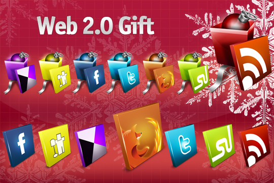 Web 2.0 Gift Icons