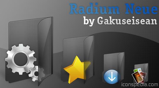 Radium Neue dock icons