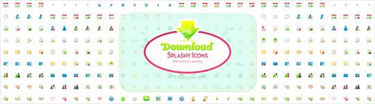 Splashy icon pack