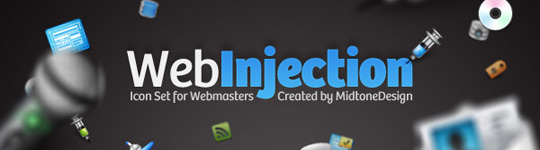 Web Injection icons