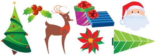 Christmas eps icons