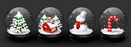 My Christmas icons
