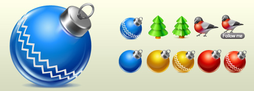 Christmas People icon pack
