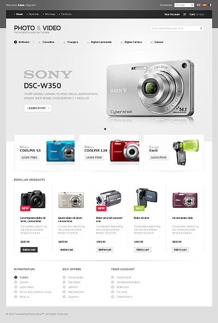 Photo PrestaShop theme