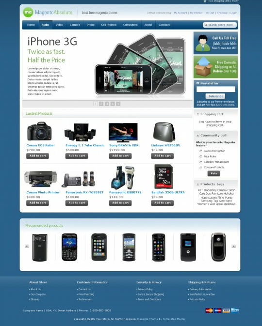 Electronics Template